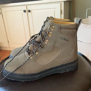 NEW llbean fly fishing boots